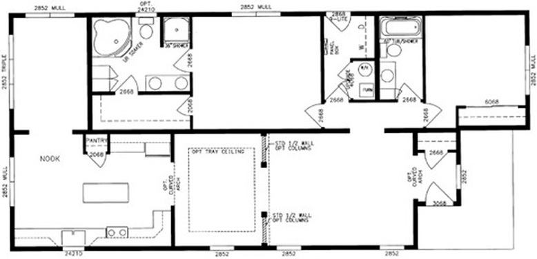 Floor Plan C Casa Bella New Community Plymouth Ma Over 55